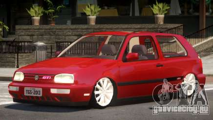 Volkswagen Golf Tuning для GTA 4