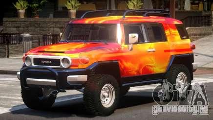 Toyota FJ Cruiser PJ3 для GTA 4
