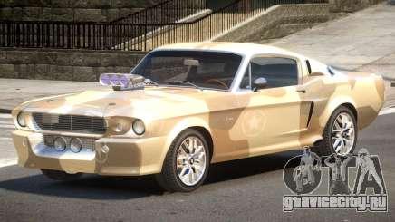 Shelby GT500 V2.1 PJ2 для GTA 4