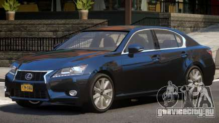 Lexus GS V1.1 для GTA 4