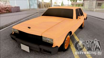 Chevrolet Caprice Orange для GTA San Andreas