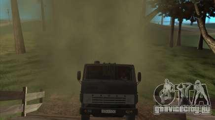 Звук двигателя КамАЗ-740 для GTA San Andreas