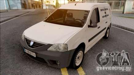Dacia Logan MCV Van 2008 Medicina Legala для GTA San Andreas