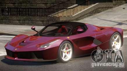 Ferrari LaFerrari GT для GTA 4