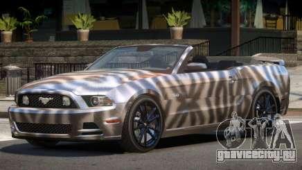 Ford Mustang GT Cabrio PJ4 для GTA 4
