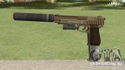 Pistol .50 GTA V (Army) Full Attachments для GTA San Andreas