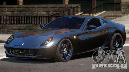 Ferrari 599 GTS V1.0 для GTA 4