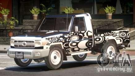Toyota Land Cruiser PJ3 для GTA 4