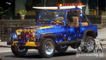 1988 Jeep Wrangler PJ3 для GTA 4