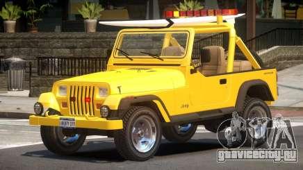 1988 Jeep Wrangler V1.0 для GTA 4