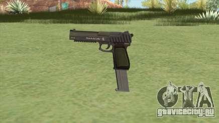 Pistol .50 GTA V (Green) Base V2 для GTA San Andreas