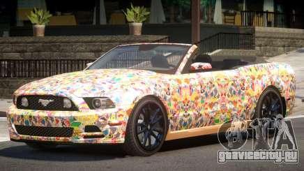 Ford Mustang GT Cabrio PJ5 для GTA 4