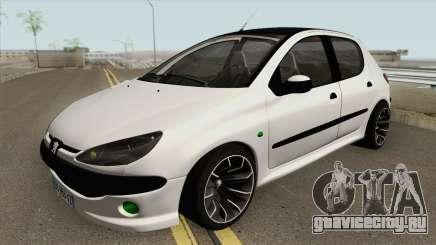 Peugeot 206 (Tuning) для GTA San Andreas