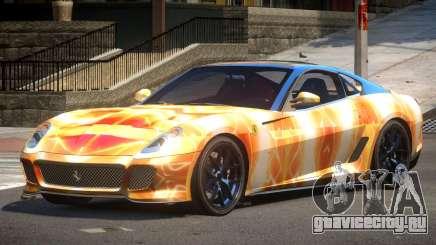 Ferrari 599 GTO V1.1 PJ5 для GTA 4