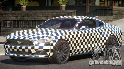 Ford Mustang GT-Sport PJ2 для GTA 4