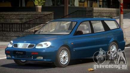 Daewoo Leganza V1.0 для GTA 4