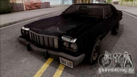 Ford Gran Torino 1974 Black для GTA San Andreas