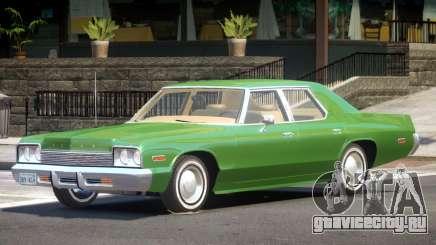 1974 Dodge Monaco V1.0 для GTA 4