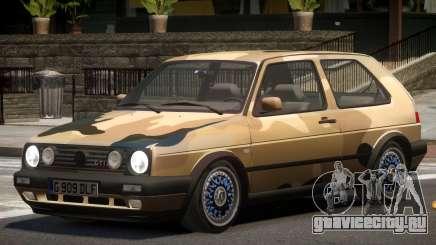 Volkswagen Golf GT V1.0 PJ3 для GTA 4