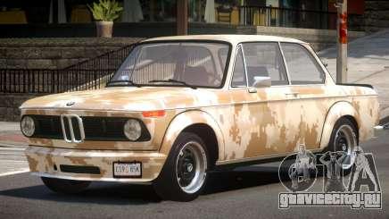 BMW 2002 GT PJ3 для GTA 4