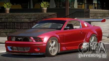 Ford Mustang GT-R V1.0 для GTA 4
