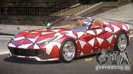 Ferrari F12 Spider PJ2 для GTA 4