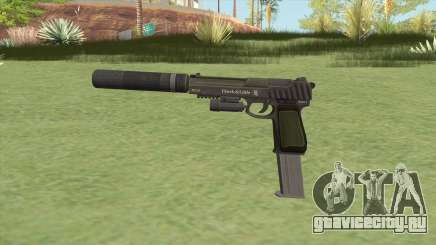 Pistol .50 GTA V (Green) Full Attachments для GTA San Andreas