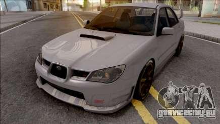 Subaru Impeza WRX STI 2006 для GTA San Andreas