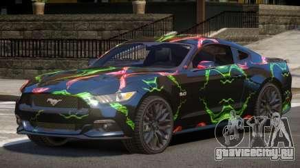 Ford Mustang GT-Sport PJ4 для GTA 4