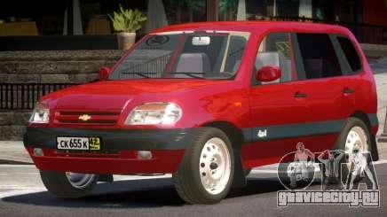 Chevrolet Niva V1.2 для GTA 4