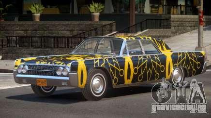 1961 Lincoln Continental PJ1 для GTA 4