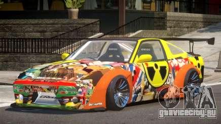 Nissan 380SX GT PJ1 для GTA 4