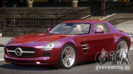 Mercedes Benz SLS 63 ST для GTA 4