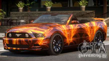 Ford Mustang GT Cabrio PJ1 для GTA 4