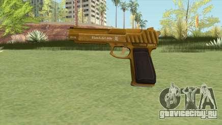 Pistol .50 GTA V (Gold) Base V1 для GTA San Andreas