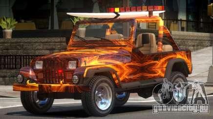 1988 Jeep Wrangler PJ1 для GTA 4