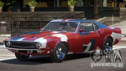 1969 Shelby GT500 RS PJ2 для GTA 4