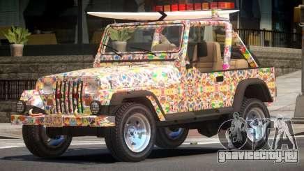 1988 Jeep Wrangler PJ5 для GTA 4