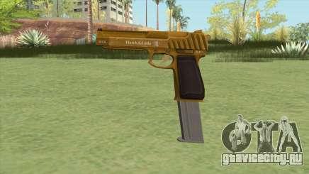 Pistol .50 GTA V (Gold) Base V2 для GTA San Andreas