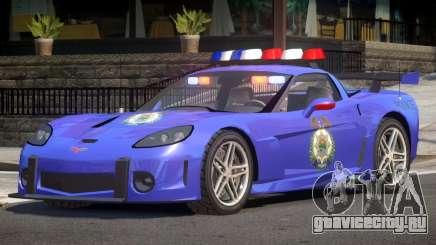 Chevrolet Corvette Police V1.2 для GTA 4