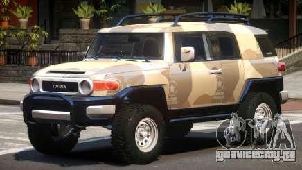 Toyota FJ Cruiser PJ2 для GTA 4