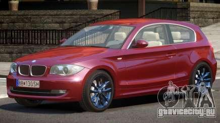 BMW E87 120i для GTA 4