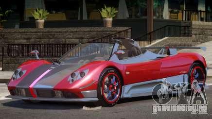 Pagani Zonda C для GTA 4