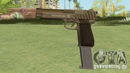 Pistol .50 GTA V (Army) Base V2 для GTA San Andreas