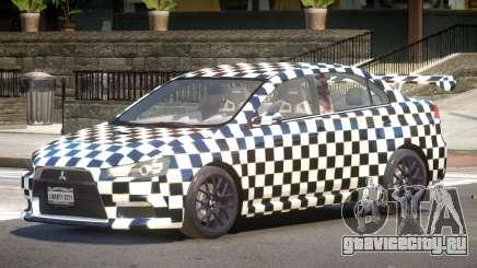 Mitsubishi Lancer X Tuned PJ2 для GTA 4