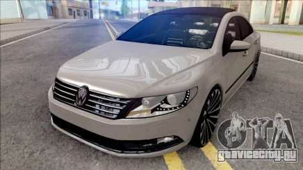 Volkswagen Passat CC Grey для GTA San Andreas