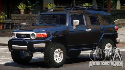 Toyota FJ Cruiser V1.0 для GTA 4