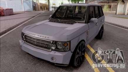 Land Rover Range Rover Superchargered 2008 v1 для GTA San Andreas