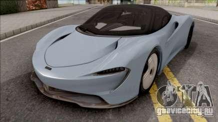 McLaren Speedtail 2019 для GTA San Andreas