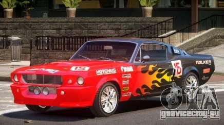 Shelby GT500 V2.1 PJ1 для GTA 4